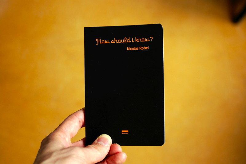 How should i know? livre