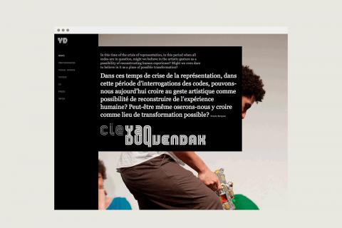 site internet, accueil, image aléatoire