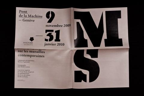 affichette-programme pliée (210×148.5mm), recto